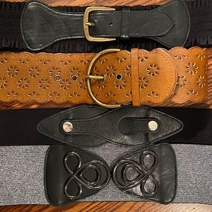 4 Wide waist belts